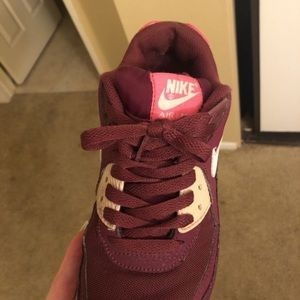 Women's Nike air max's size 8